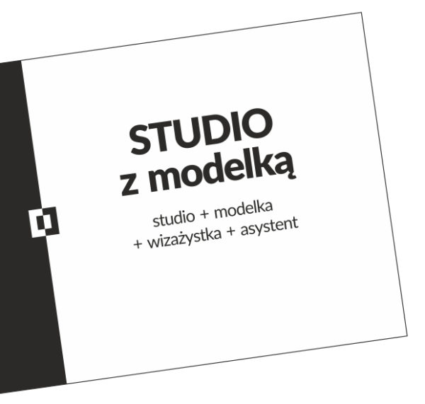 Studio z modelką