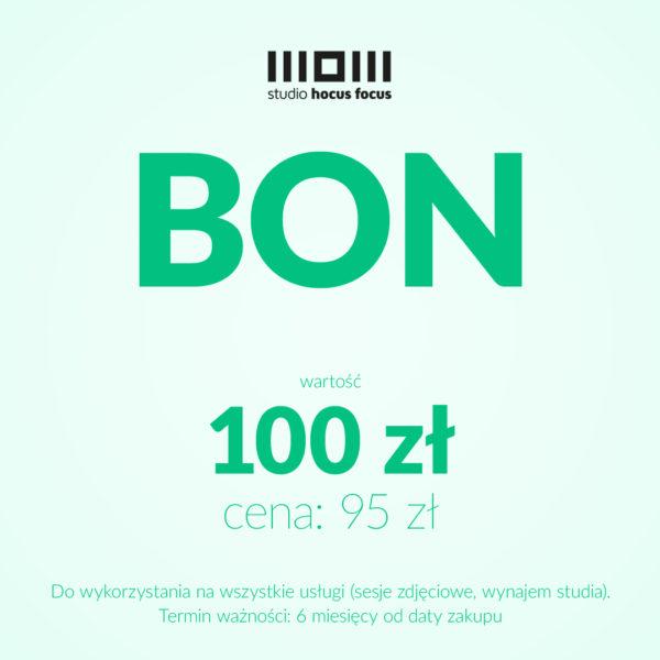 Bon o wartości 100 zł